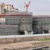 【2020年5月14日開業】宝塚ホテル移転・新築計画の建設状況 19.09
