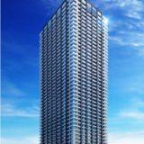【2021年11月竣工予定】シティタワー大阪本町の建設状況 19.10