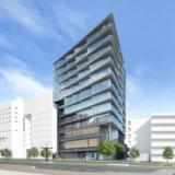 【2021年01月竣工】九州フィナンシャルグループ本社ビル(仮称)の建設状況 19.10