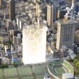 【2022年03月竣工】クラッシィタワー靱公園の建設状況 19.10