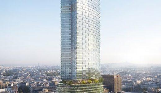 【2024年頃完成予定】パリのモンパルナス・タワーが3億ユーロを掛けて大規模リノベーションを実施!