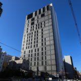 NTT Com「大阪第6データセンター」新日本橋ビル(仮称)新築工事の状況 19.10