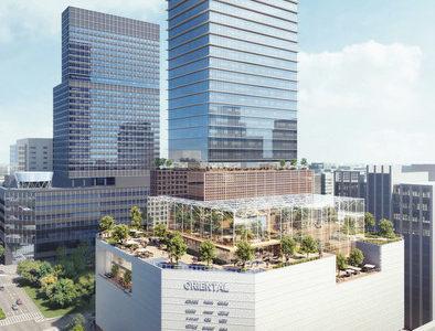 名古屋三越 栄店の建て替え構想が浮上!高さ180mの高層ビルへ 現地の状況 20.07