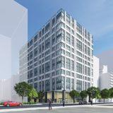【2022年2月竣工】(仮称)新大阪オフィス計画ーJR西日本不動産開発が計画中のオフィスビルの状況 19.10