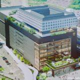 【2021年竣工】熊本駅ビルの建設状況 19.10