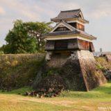 熊本城に残る震災の爪痕