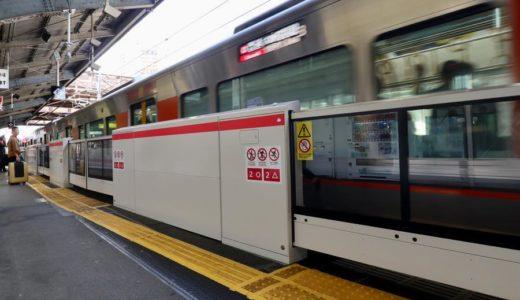 【JR西日本】京橋駅環状線ホームドア(可動式ホーム柵)設置工事の状況 19.10