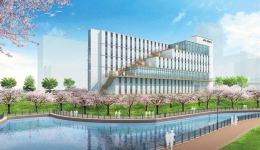 【2021年4月開設】さくらポート (仮称)森ノ宮医療大学新校舎新築計画の状況 19.10