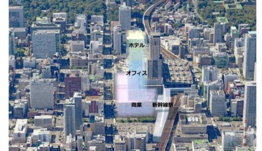 JR北海道が「札幌駅交流拠点北5西1・西2地区」の再開発準備組合を設立、47階建て超高層ビル建設を目指す!