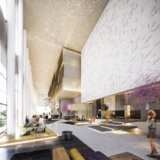 センタラグランドホテル大阪の新しい完成予想パース