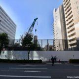【2023年03月竣工】日本IBM大阪事業所跡地の再開発(仮称)西区靭本町計画の状況 19.11