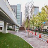 大阪駅前第4ビル1階東側公開空地整備工事の状況 19.11