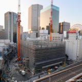 【2022年3月竣工】ラ・トゥールが梅田に進出!(仮称)梅田曽根崎計画の建設状況 19.11