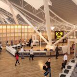 関西国際空港  T1 リノベーション工事(第1旅客ターミナルビル改修)の状況 21.07