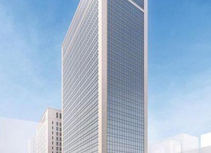 【2020年1月末解体完了】日本生命淀屋橋ビル解体工事の状況 19.11