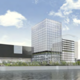(仮称)中之島4丁目未来医療国際拠点開発 新築工事の状況 21.08【2024年春開業予定】