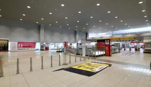 関西国際空港における特定天井改修工事の状況 21.07