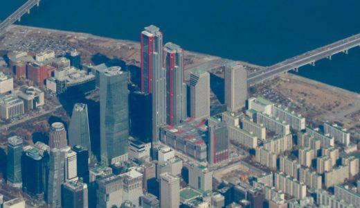 パークワンタワー(Parc1 Tower)ソウル・汝矣島で建設中の超高層ビルは72階建て高さ333m