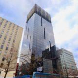 【2020年10月竣工】W OSAKA(W大阪)マリオットと積水ハウスが御堂筋沿いに建設中のWホテルの状況 19.12