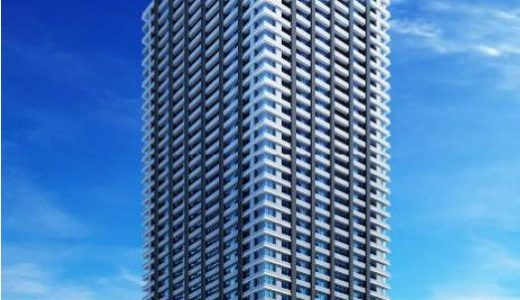 シティタワー大阪本町の建設状況 20.01【2021年11月竣工予定】
