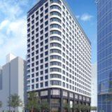 ホテルインターゲート大阪 梅田の建設状況 20.01【2020年12月開業】