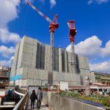 三宮ターミナルビル解体工事の状況 20.01【2020年5月まで】