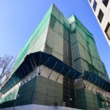 新曽根崎ビル(仮称)新築工事ーNTT西日本曽根崎ビル跡に建設されるデータセンターの状況 20.01