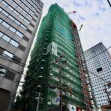 (仮称)ユニゾインエクスプレス大阪南本町の建設状況 20.01【2021年春開業】