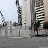 日本IBM大阪事業所跡地の再開発(仮称)西区靭本町計画の状況 20.01【2023年03月竣工】