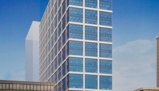 (仮称)本町サンケイビルの建設状況 19.12【2021年8月竣工予定】