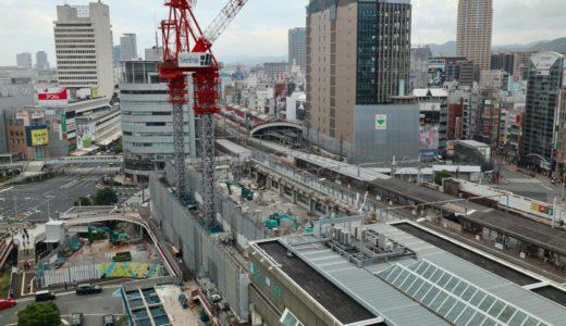 三宮ターミナルビル解体工事の状況