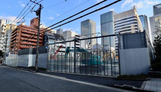 【解体工事中】堂島二丁目特定街区、旧・電通大阪ビルの解体工事の状況 20.01