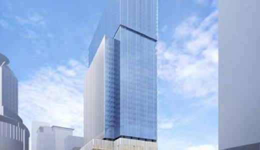 JPタワー大阪(仮称)梅田3丁目計画 建設工事の状況 21.03【2024年3月竣工予定】
