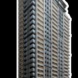 クラッシィタワー靱公園の建設状況 20.02【2022年03月竣工】