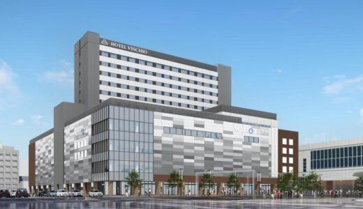 JR富山駅ビルの外観デザインが決定!商業施設はマルート(MAROOT)、ホテルヴィスキオ富山が入居【2022年春開業】