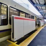 JR西日本ー京橋駅環状線ホームドア(可動式ホーム柵)設置工事の状況 20.02