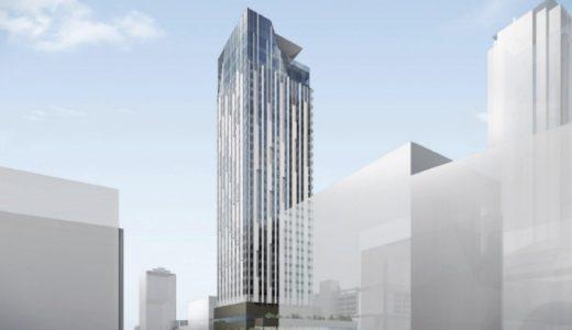(仮称)センタラグランドホテル大阪の状況 20.03【2023年3月竣工】