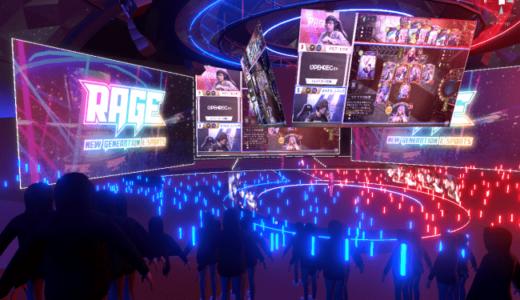 eスポーツ専用VR施設「V-RAGE」β版を2020年3月15日(日)オープン。VRスタジアムがサイバー!