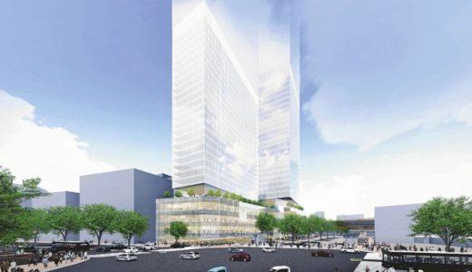 仙台市(仮称)さくら野百貨店跡地開発計画が始動!150mと130mのツインタワー構想が明らかに