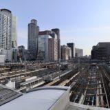大阪駅新改札口(仮称)大阪駅西口・うめきた口 建設工事の状況 21.05