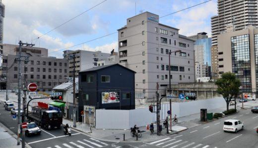 (仮称)谷町四丁目計画新築工事  住友不動産が日本コムシス跡地にタワーマンションを建設?