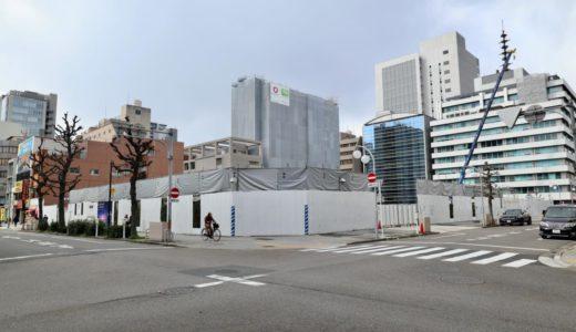 プラウドタワー名古屋錦の建設状況 20.03【2022年03月竣工】