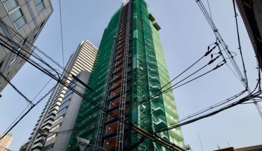 (仮称)ユニゾインエクスプレス大阪南本町の建設状況 20.03【2021年春開業】