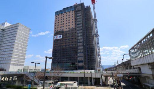 ホテル WBF グランデ関西エアポートの建設状況 20.03【2020年07月開業】