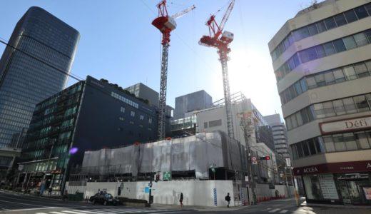 アロフト・ホテルが大阪初進出! Aloft 堂島(仮称)の建設状況 20.03【2020年度開業予定】