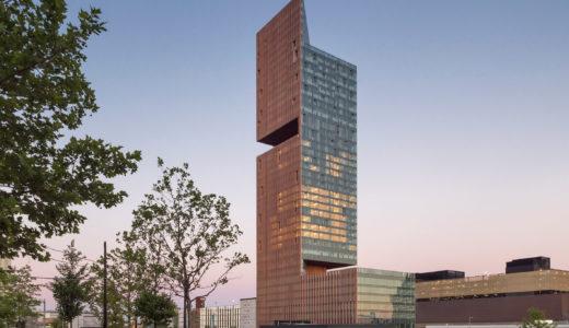 マンハッタンロフトガーデンズタワー(Manhattan Loft Gardens)SOMが手掛けたダブルカンチレバー型の高層ビル