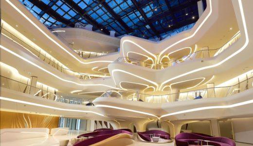 ザハ氏が手がけたThe opus(オーパスビル)に入るホテル、ME ドバイ by メリア(ME Dubai by Meliá)が未来過ぎる!