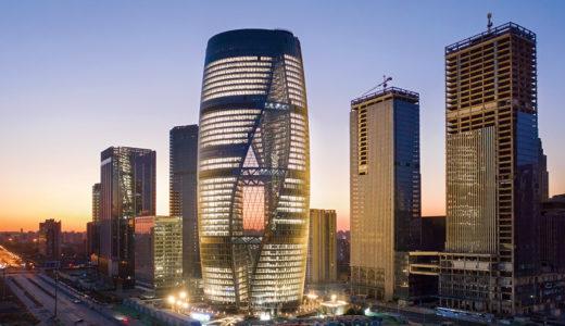 リーザソーホー(Leeza Soho)Zaha Hadid Architectsが設計した世界で最も高いアトリウムを備えた超高層ビル