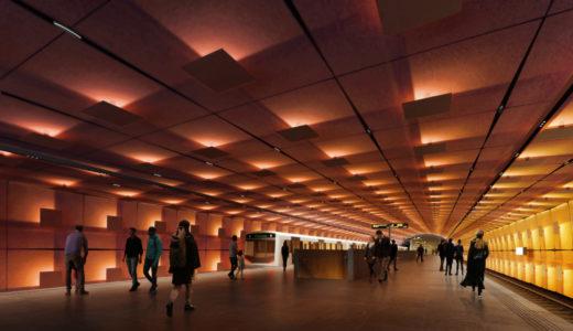 ザハ・ハディド・アーキテクツとA-Labがオスロの地下鉄新線の2駅を設計