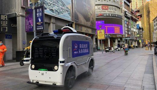 中国のスタートアップ、新石器(Neolix)が開発した自動運転配達ロボットが活躍中